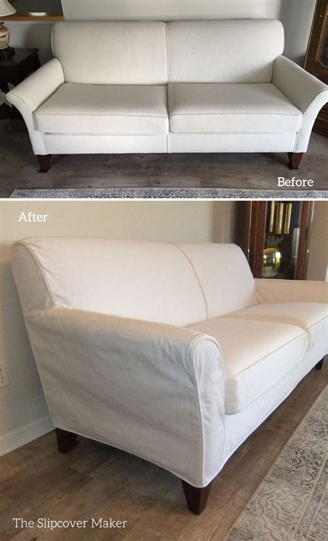 white slipcover for sofa white slipcovers the slipcover maker