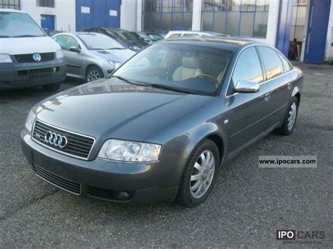 2002 Audi A6 Specs by Audi A6 2 7 2002 Auto Images And Specification