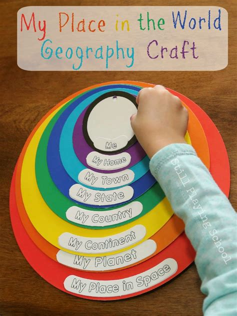 My Place In The World Geography Craft Review Still