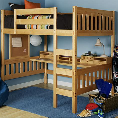 loft bed for modern size metal loft beds for adults with desk