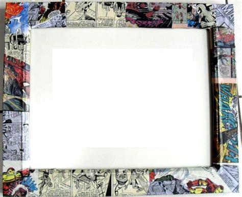 book picture frames handmade comic book frame by georgiaapril on deviantart