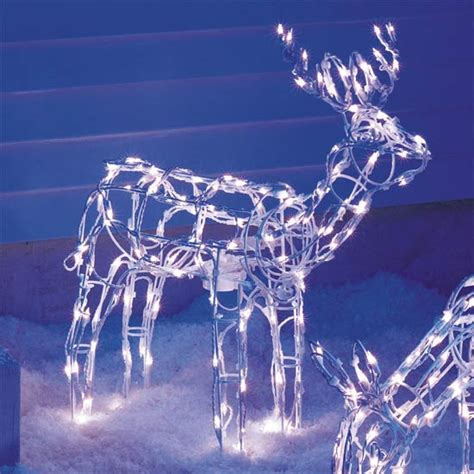 animated reindeer lights animated lighted reindeer buy decoration product on
