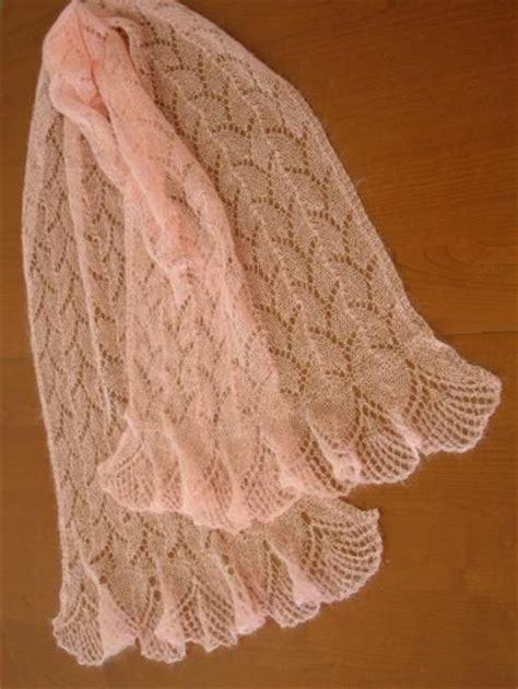 knit lace scarf lace knitting tejidos