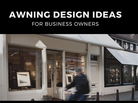 Awning Design by Awning Design Ideas For Business Owners