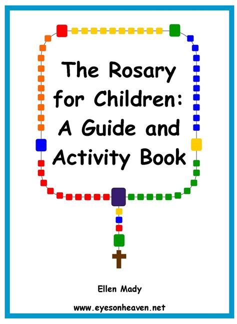rosary children the rosary for children a guide and activity book