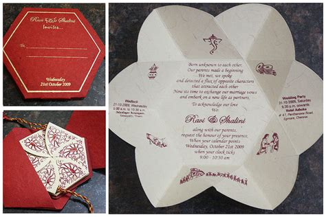 invitation card ideas unique indian wedding invitation cards designs and ideas