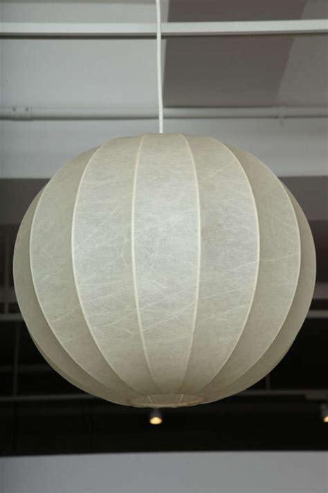 sphere light fixture vintage sphere pendant light fixture by achilles