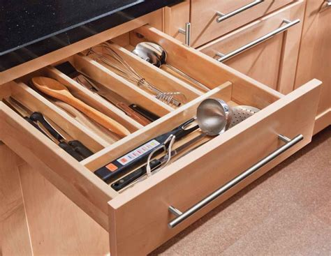 kitchen cabinet drawer organizers kitchen drawer organizers pull out shelves in a