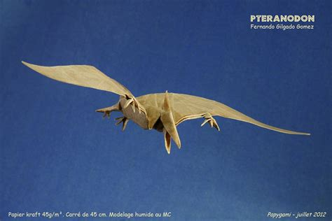 origami pteranodon some of the best origami i ve seen in 65 million years
