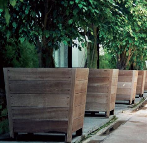 large planters for trees best 25 tree planters ideas on tree stumps