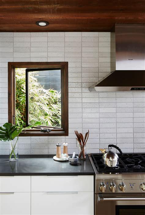 modern backsplash for kitchen unique kitchen backsplash inspiration from fireclay tile