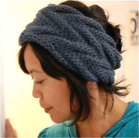 how to make a headband with a knitting loom top 10 warm diy headbands free crochet and knitting