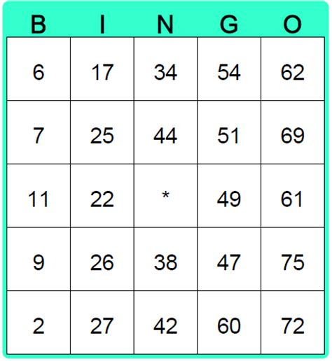make bingo card printable blank math bingo cards addition using numbers