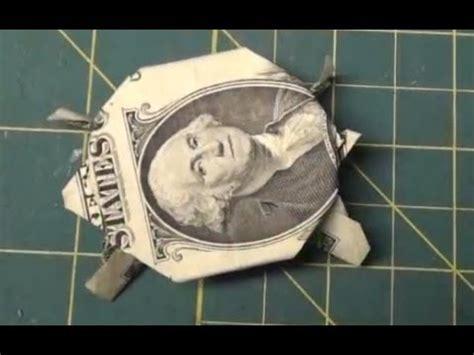 turtle origami dollar bill fold money sailboat origami 1 one dollar bill tutori
