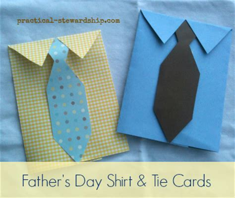 how to make a tie card diy s day dress shirt and tie card practical
