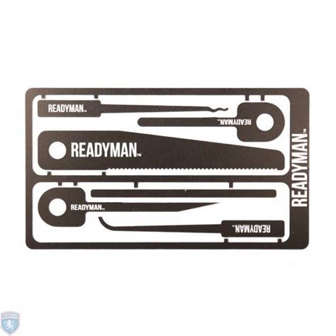 card tools readymade hostage escape survival credit card tool