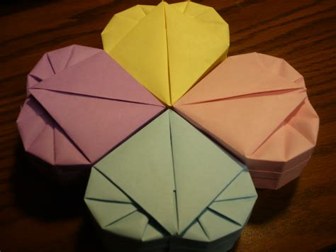 Lined Paper Origami