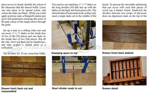 chess table woodworking plans chess table plans woodarchivist