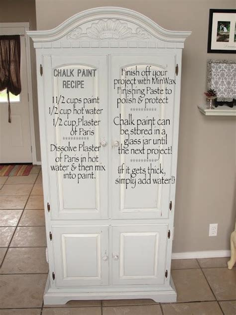 diy chalk paint plaster of recipe chalk paint recipes paint and chalk paint furniture on