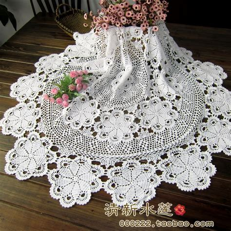 knitting patterns for tablecloths handmade hook needle crochet dining table cloth 100