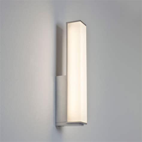 chrome bathroom wall lights astro 7161 karla polished chrome led bathroom wall light