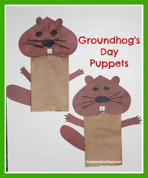 groundhog day crafts for best photos of groundhog day crafts for toddlers craft