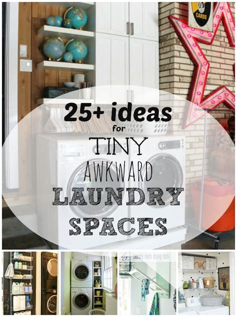 storage ideas for small laundry rooms remodelaholic 25 ideas for small laundry spaces