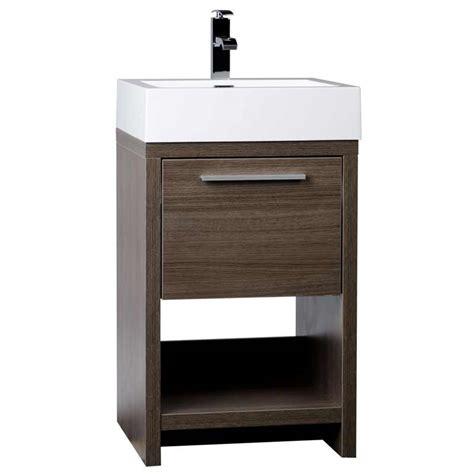 20 bathroom vanity modern bathroom vanity set grey oak free shipping tn l500