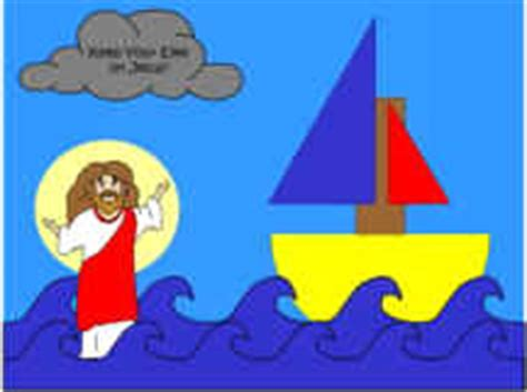 jesus walks on water craft for jesus walks on water craft hooked on the book
