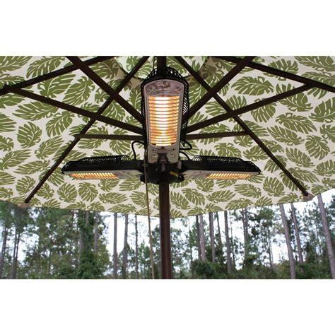 sense halogen patio heater patio umbrella heater umbrella pole patio heater the