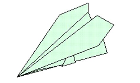 origami stunt plane origami by al planes and boats free diagrams