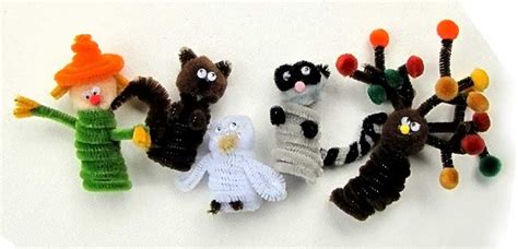 kid crafts for fall fall crafts finger puppets