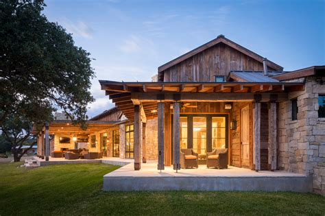 Llano Ranch   Rustic   Porch   Austin   by Cornerstone Architects