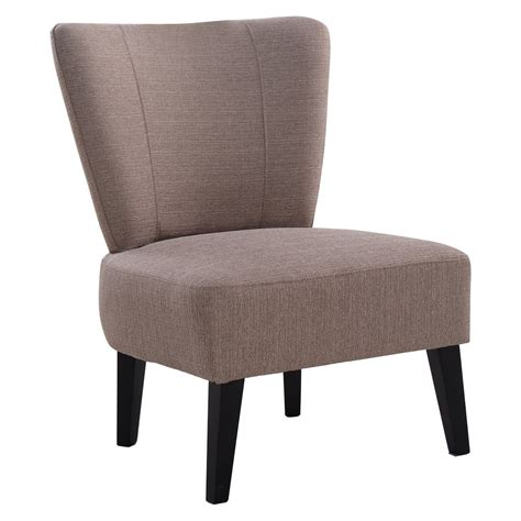 upholstered accent chairs living room armless accent chair upholstered seat dining chair living