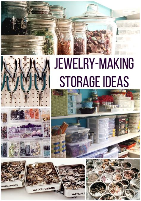 4 Ideas For Jewelry Storage