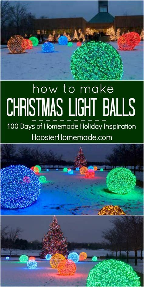 how to make outdoor balls how to make light balls inspiration