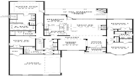 open floor house plans open concept kitchen best small open floor plans small