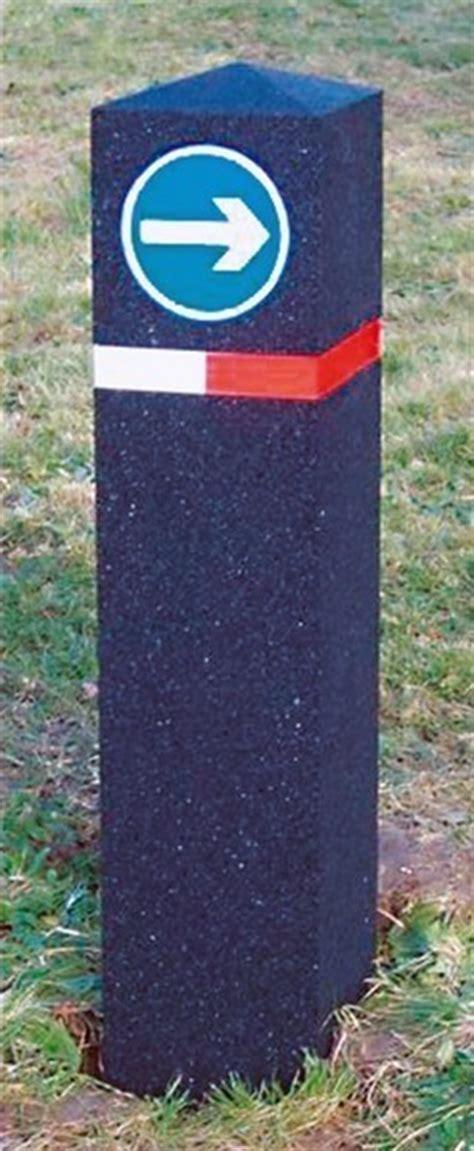 Berkeley Recycled Rubber Bollards 183 Barriers Direct