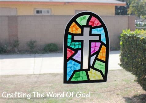 stained glass craft resurrection 171 crafting the word of god