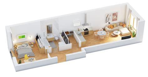 one bedroom home designs 40 more 1 bedroom home floor plans