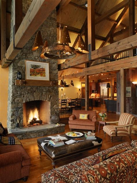rustic home decorating ideas living room lodge style cabin rooms to distinctive cottage