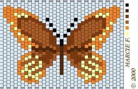 beaded butterfly pattern beaded butterfly pattern beading weave butterfly