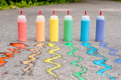 chalk paint easy budget friendly summer activities for