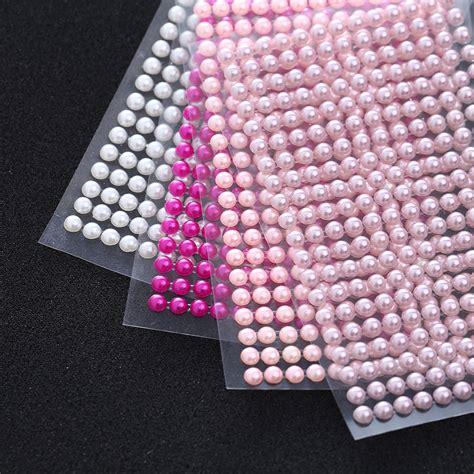 self adhesive gems for card medium 6mm self adhesive diamante pearls gems self