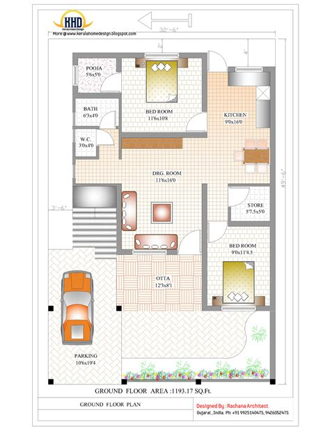 house floor plans india contemporary india house plan 2185 sq ft indian home