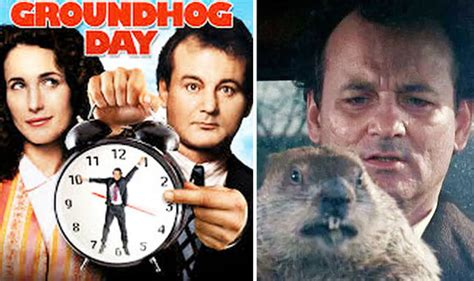 groundhog day uk tv groundhog day original script reveals how phil was trapped