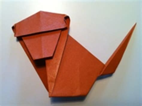monkey origami how to make origami animals