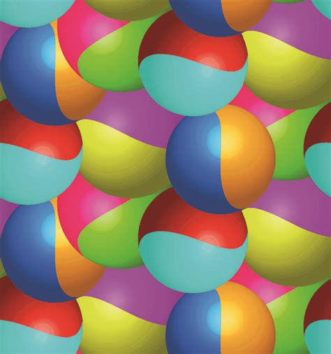 abstract color ball vector background over millions