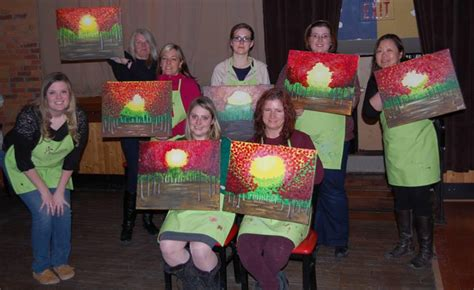 paint nite groupon kingston six questions for waugh from paint nite in kingston