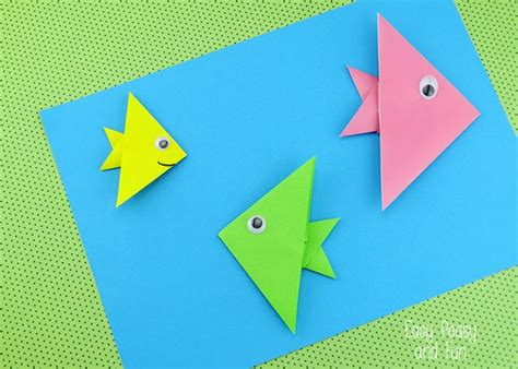 easy origami fish for easy origami fish origami for easy peasy and